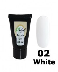 Поли-гель Acrylic Gel White # 02, 30 мл