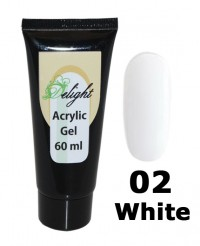 Поли-гель Acrylic Gel White # 02, 60 мл